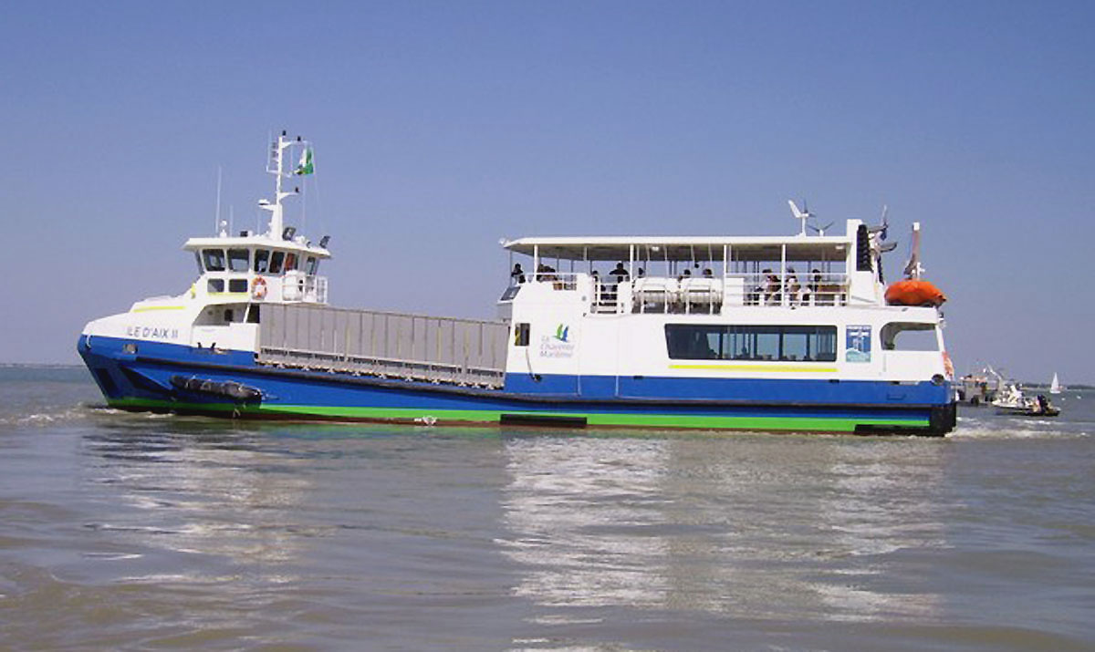 bateau ile d'aix